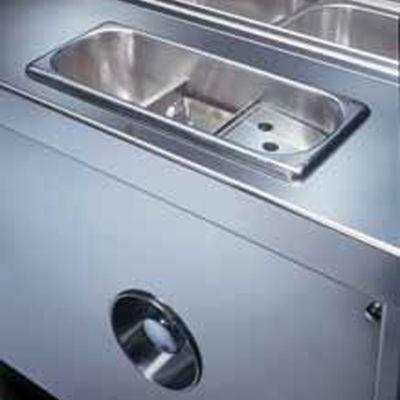 Lavaporzionatore-integrato