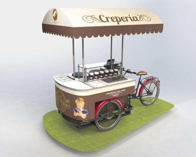Triciclo Creperia 1